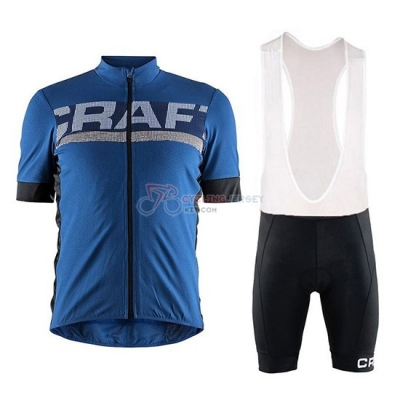Craft Cycling Jersey Kit Short Sleeve 2018 Blue