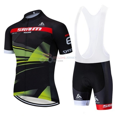 Sram Cycling Jersey Kit Short Sleeve 2019 Black Green