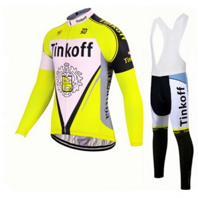 Tinkoff Cycling Jersey Kit Long Sleeve 2017 red