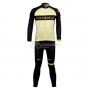 Livestrong Cycling Jersey Kit Long Sleeve 2012 Yellow And Black
