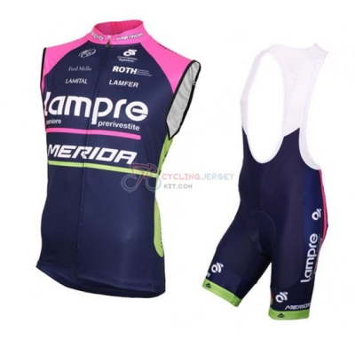 Lampre Wind Vest 2016 Blue And Pink