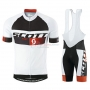 Scott Cycling Jersey Kit Short Sleeve 2015 Black And White