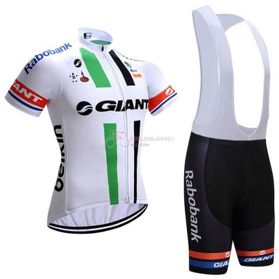 Giant Alpecin Cycling Jersey Kit Short Sleeve 2021 White