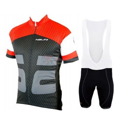 Nalini Cycling Jersey Kit Short Sleeve 2019 Red Black