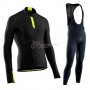 Northwave Cycling Jersey Kit Long Sleeve 2019 Negro Green