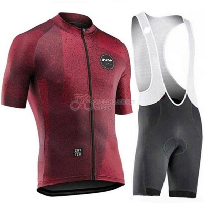 Northwave Cycling Jersey Kit Short Sleeve 2019 Spento Red