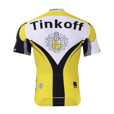 Tinkoff Cycling Jersey Kit Short Sleeve 2017 red