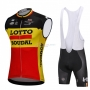 Wind Vest 2018 Lotto Soudal Black and Yellow
