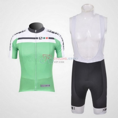 Giordana Cycling Jersey Kit Short Sleeve 2011 White And Green
