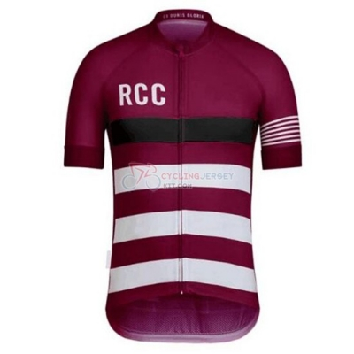 Rcc Paul Smith Cycling Jersey Kit Short Sleeve 2019 Deep Red