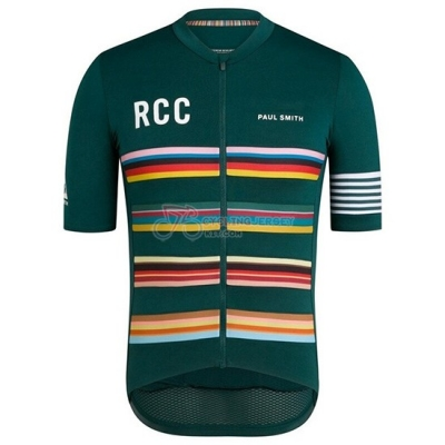 Rcc Paul Smith Cycling Jersey Kit Short Sleeve 2019 Green