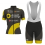 Direct Energie Cycling Jersey Kit Short Sleeve 2017 brown
