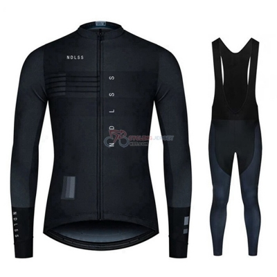 NDLSS Cycling Jersey Kit Long Sleeve 2020 Black