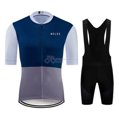 NDLSS Cycling Jersey Kit Short Sleeve 2020 Gray Blue