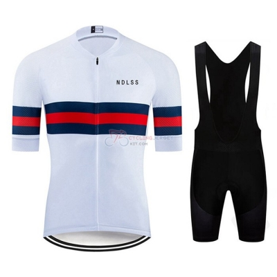 NDLSS Cycling Jersey Kit Short Sleeve 2020 White