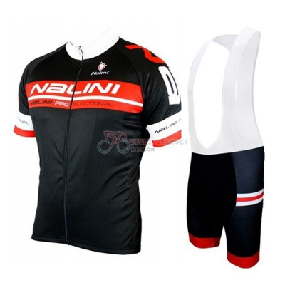 Nalini Cycling Jersey Kit Short Sleeve 2019 Black Red
