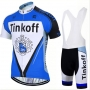 Tinkoff Cycling Jersey Kit Short Sleeve 2017 blue