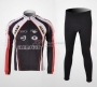 Cube Cycling Jersey Kit Long Sleeve 2010 Black And White