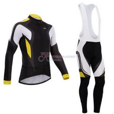 Northwave Cycling Jersey Kit Long Sleeve 2015 Black And Yellow