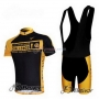 Livestrong Cycling Jersey Kit Short Sleeve 2009 Yellow And Black
