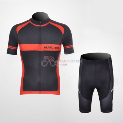 Pearl Izumi Cycling Jersey Kit Short Sleeve 2011 Black And Red