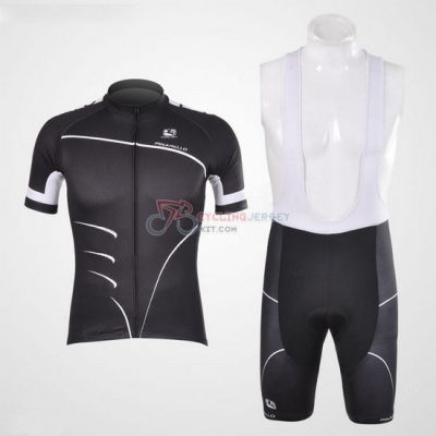 Pinarello Cycling Jersey Kit Short Sleeve 2012 Black And White