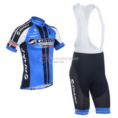 Giant Cycling Jersey Kit Short Sleeve 2013 Black And Blue