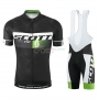 Scott Cycling Jersey Kit Short Sleeve 2015 Black And Green