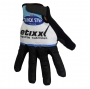 2020 Etixx Quick Step Long Finger Gloves Black White