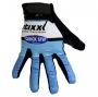 2020 Etixx Quick Step Long Finger Gloves Blue Black White