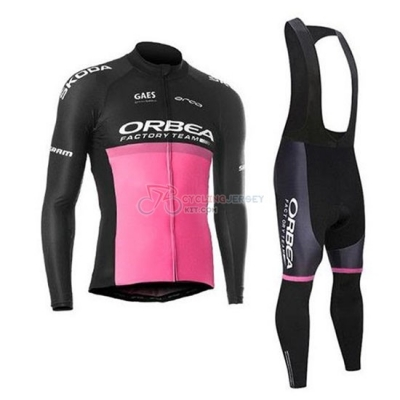Orbea Cycling Jersey Kit Long Sleeve 2020 Black Pink