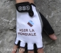 Cycling Gloves Ag2r 2011 white