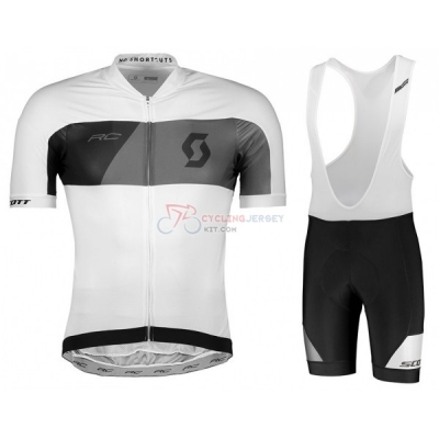 Scott Rc Cycling Jersey Kit Short Sleeve 2018 Gray White