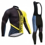 Specialized Cycling Jersey Kit Long Sleeve 2018 Black and Yellow