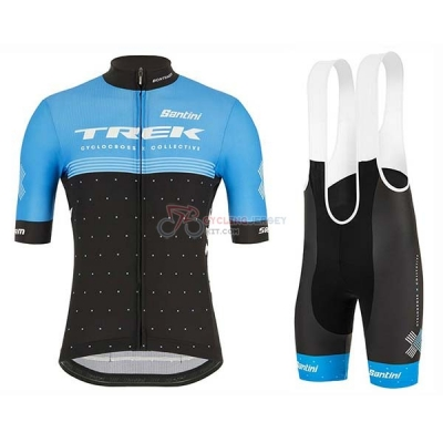 Trek Black Cycling Jersey Kit Short Sleeve 2020 Blue