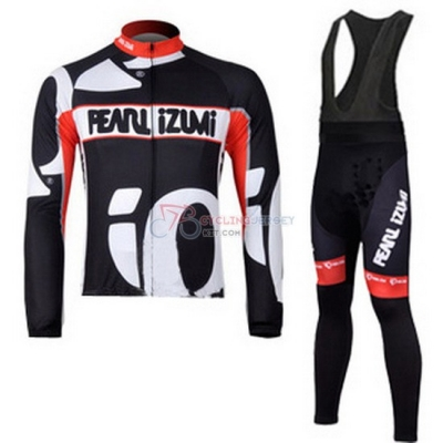 Pearl Izumi Cycling Jersey Kit Long Sleeve 2010 Black And White