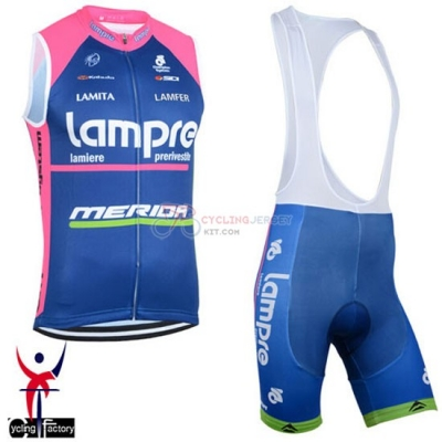 Lampre Wind Vest 2015 Blue And Pink