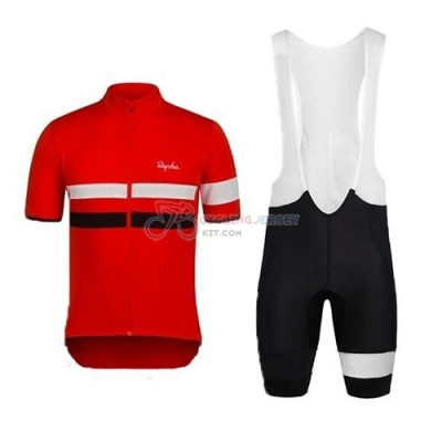 Rapha Cycling Jersey Kit Short Sleeve 2015 Black And Red