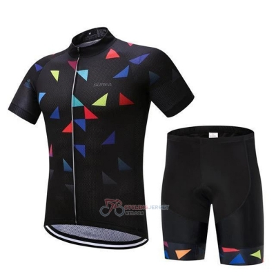 Algrita Cycling Jersey Kit Short Sleeve 2020 Black