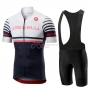 Castelli Free AR 4.1 Cycling Jersey Kit Short Sleeve 2019 White Black