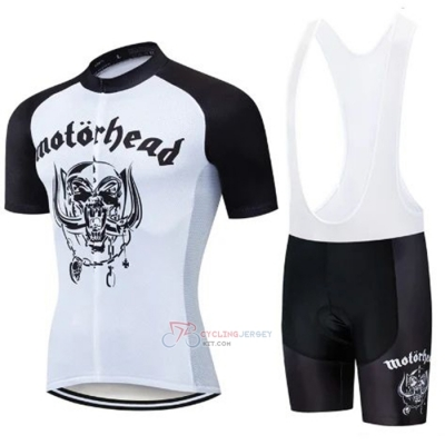 Lemmy Cycling Jersey Kit Short Sleeve 2020 Black White