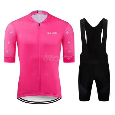 NDLSS Cycling Jersey Kit Short Sleeve 2020 Pink