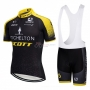 Scott Cycling Jersey Kit Short Sleeve 2018 Yellow and Black