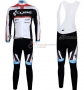 Cube Cycling Jersey Kit Long Sleeve 2012 Black And White