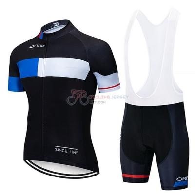 Orbea Cycling Jersey Kit Short Sleeve 2019 Black Blue White