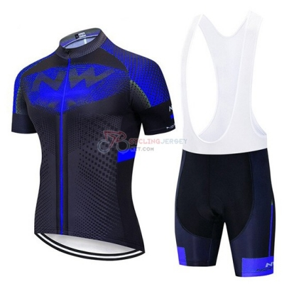 Northwave Cycling Jersey Kit Short Sleeve 2020 Bluee Black
