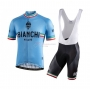 Bianchi Cycling Jersey Kit Short Sleeve 2021 White