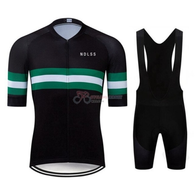 NDLSS Cycling Jersey Kit Short Sleeve 2020 Black Green