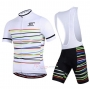 Ripple Cycling Jersey Kit Short Sleeve 2020 White