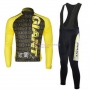 Giant Cycling Jersey Kit Long Sleeve 2010 Black And Yellow